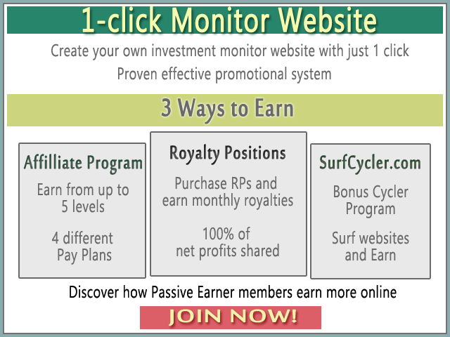 Join Passive-Earner Today